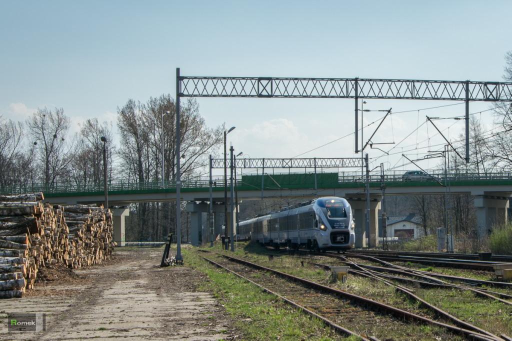 ED161 PKP Intercity Linia D29-139 Kobiór