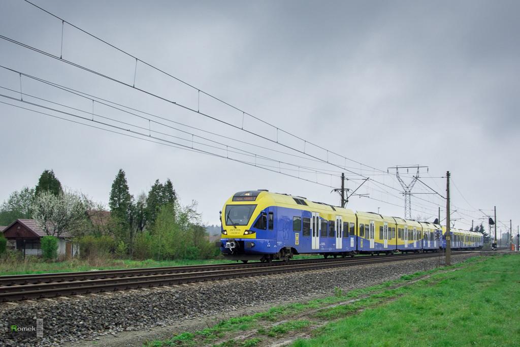 EN75 Koleje Śląskie LiniaD29-139 Tychy